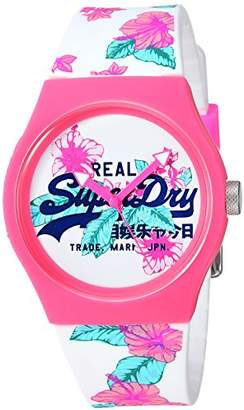 Superdry Women's 'Urban Tropical' Quartz Plastic and Silicone Casual Watch