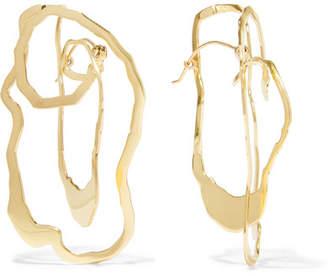 Ellery Erno Gold-plated Earrings