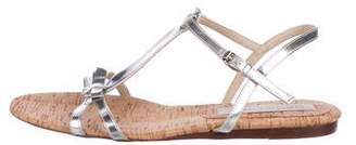 Stella McCartney Vegan T-Strap Sandals