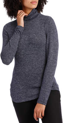 Basque Roll Neck Marle Tee