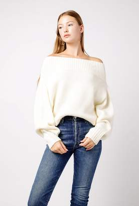 Azalea Easy Wide Knit Sweater