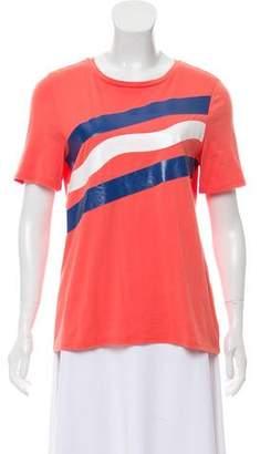 Tory Burch Short Sleeve Graphic T-Shirt