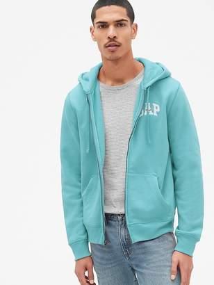 Gap Logo Fleece Full-Zip Hoodie