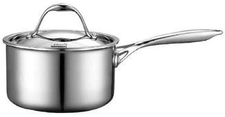 N. (エヌナチュラルビューティーベーシック) - Cook N Home Cooks Standard 1.5-Quart Multi-Ply Clad Stainless Steel Saucepan with Lid
