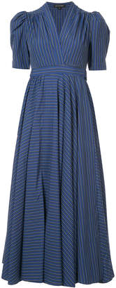 Jill Stuart striped plunge dress