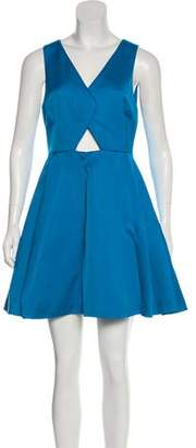 Zac Posen Sleeveless A-Line Dress