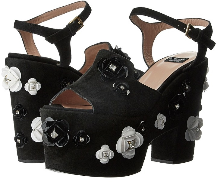 Moschino Boutique Moschino - Embellished Platform Sandal Women's Sandals