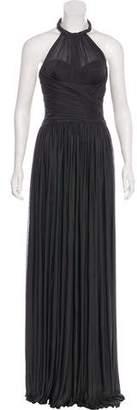 Dolce & Gabbana Silk Pleated Dress w/ Tags