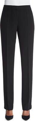 Lafayette 148 New York Barrow Straight-Leg Crepe Pants, Plus Size