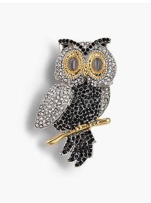 Talbots Holiday Brooch Collection - Snowy Owl