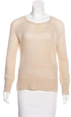 Raquel Allegra Cashmere Open Knit Sweater