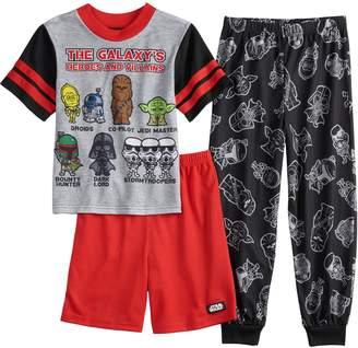 Boys 6-12 Star Wars 3-Piece Pajama Set
