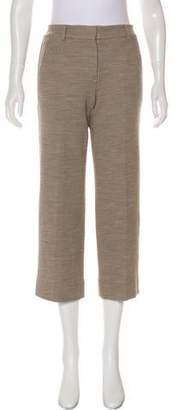 Helmut Lang Mid-Rise Cropped Pants