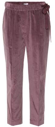 Brunello Cucinelli Corduroy cropped pants