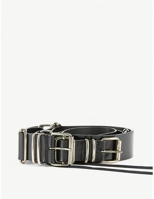 Ann Demeulemeester Multi-strap leather belt