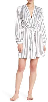 Shimera Satin Print Robe