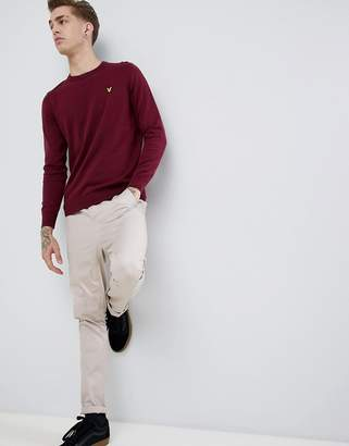 Lyle & Scott cotton crew neck sweater