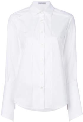 Palmer Harding Palmer / Harding pleated front shirt
