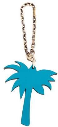 Hermes Petit H Palm Tree Keychain