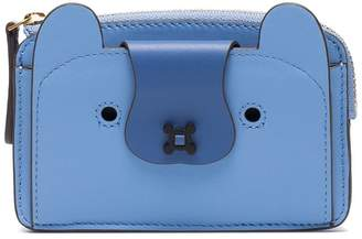 Anya Hindmarch Blue Husky coin purse