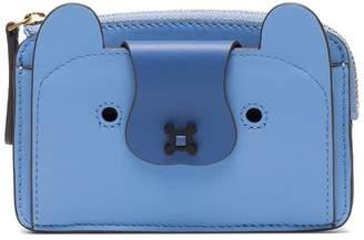 Anya Hindmarch Blue Husky coin purse