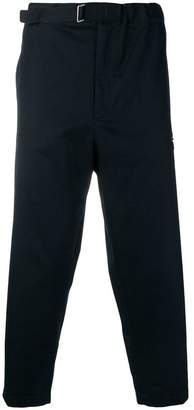 Oamc cropped chino trousers