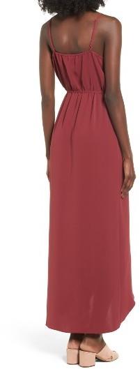 Women's Everly Ruffle Wrap Maxi Dress 4