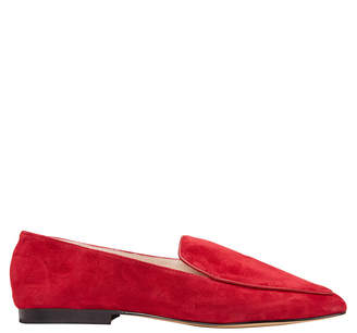 Haven Red Suede Loafer