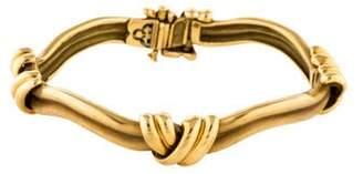 18K X Link Bracelet