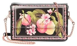 Ted Baker Jesenia Peach Blossom Crosshatch Crossbody Bag