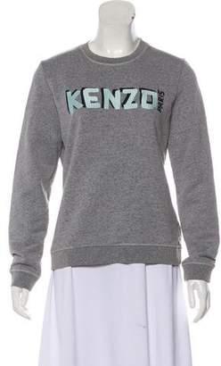 Kenzo Logo Crew Neck Sweatshirt