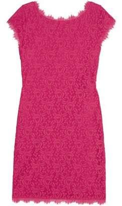 Diane von Furstenberg Barbara Lace Mini Dress