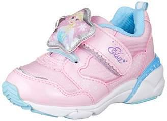 Disney (ディズニー) - [ディズニー] 光る 靴 運動靴 通学履き 子供 カーズ プリンセス エルサ DN C1203 DN C1203 キッズ ピンク 18 cm 2E