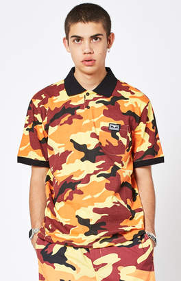 Obey All Eyez Camouflage Polo Shirt