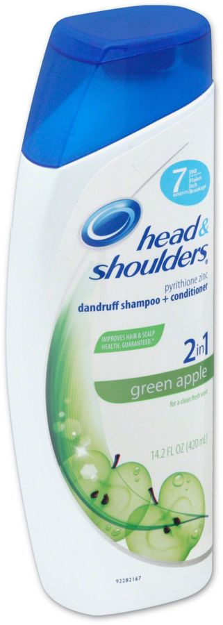 Head and Shoulders® 13.5 oz. 2-in-1 Green Apple Dandruff Shampoo and Conditioner