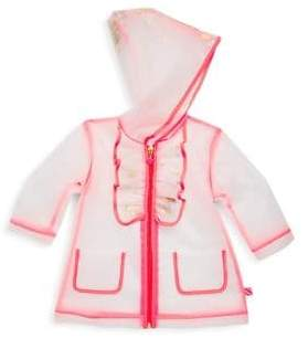 Billieblush Baby's& Toddler's Transparent Raincoat
