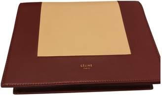 Celine Frame Leather Clutch Bag