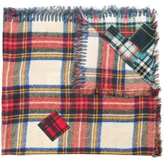 Pierre Louis Mascia Pierre-Louis Mascia tartan print scarf