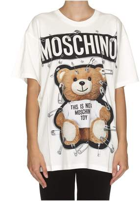 Moschino Safety Pin Teddy T-shirt