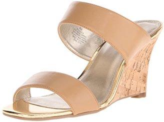 Bandolino Women's JADZIA Wedge Sandal $31.14 thestylecure.com