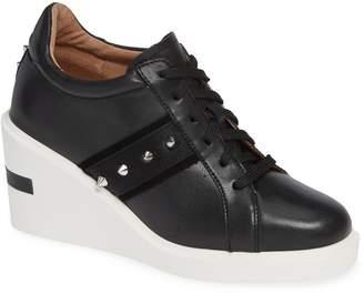 Linea Paolo Kesha Studded Wedge Sneaker