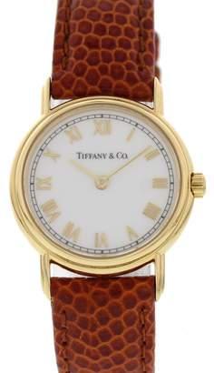 Tiffany & Co. Yellow gold watch