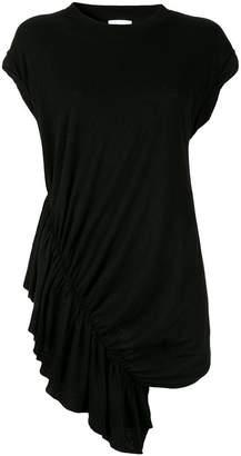 Current/Elliott gathered ruched side T-shirt dress