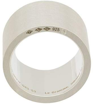 Le Gramme 19 grams slick brushed ring