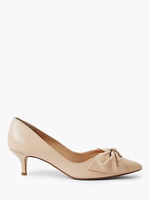 8c4daa51e759 John Lewis   Partners Andie Kitten Heel Bow Court Shoes