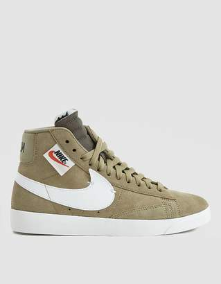 Nike W Blazer Mid Rebel in Neutral Olive