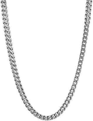 Lynx Stainless Steel Foxtail Chain Necklace - 20 in. - Men