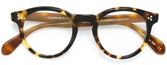 Oliver Peoples 'Feldman' glasses $353.40 thestylecure.com