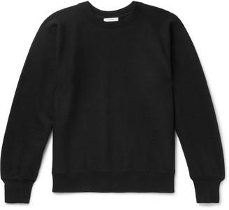 The Row George Loopback Cotton-Jersey Sweatshirt - Men - Black