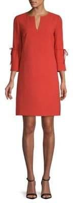 Lafayette 148 New York Deandra Quarter-Sleeve Shift Dress
